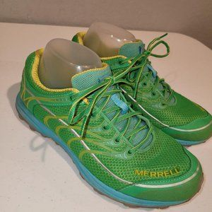 Merrell Womens Island Green Lace Up Mix Master Mov